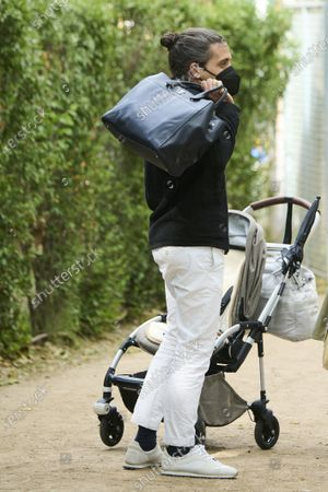 Carlos Torreta attends Longines Global Champions Tour 2021 Madrid. Day 3 at Club de Campo Villa de Madrid First images of Marta Ortega and Carlos Torreta with their one-year-old daughter Matilda at the equestrian centre.