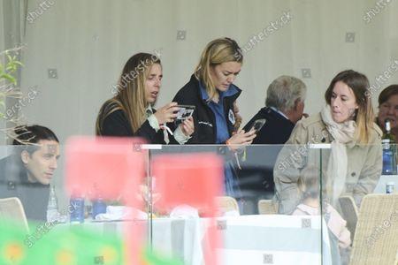 Marta Ortega, Carlos Torreta, Matilda Torreta Ortega, Amancio Alvarez Ortega attends Longines Global Champions Tour 2021 Madrid. Day 3 at Club de Campo Villa de Madrid