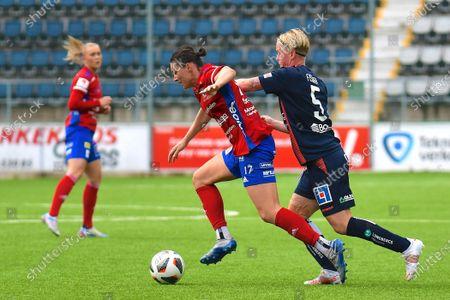 Editorial image of Linkoping FC v Vittsjo GIK, OBOS Damallsvenskan, Linkoping Arena, Linkoping, Sweden - 23 May 2021