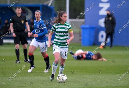Editorial photo of Rangers v Celtic Rangers, Scottish Women's Premier League 1, Training Centre, Glasgow, Scotland, UK - 23 May 2021