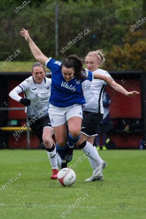 Editorial photo of Swansea v Cardiff, Welsh Premier Womens League, Llandarcy Academy, Neath, Wales, UK - 23 May 2021