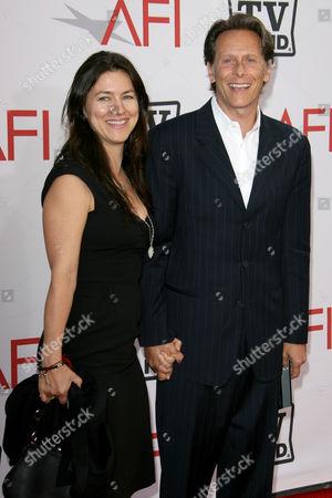 Stock Image of Juliette Hohnen and Steven Weber