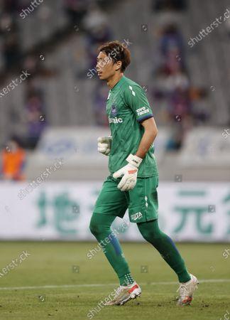 Stock Image of Masaaki Higashiguchi (Gamba) - Football / Soccer : 2021 J1 League match between FC Tokyo 1-0 Gamba Osaka at Ajinomoto Stadium, Tokyo, Japan.