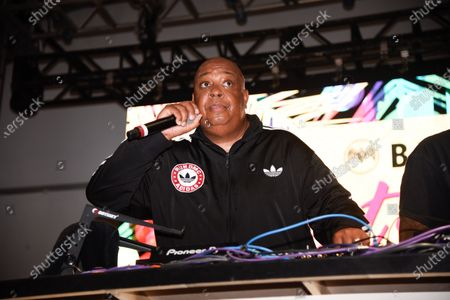 Stock Photo of Joseph Simmons also know as his stage name Rev Run, performs at Bacardi presents Best of the Fest
