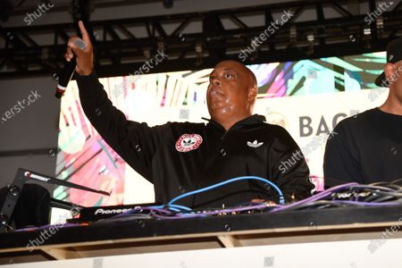 Stock Picture of Joseph Simmons also know as his stage name Rev Run, performs at Bacardi presents Best of the Fest