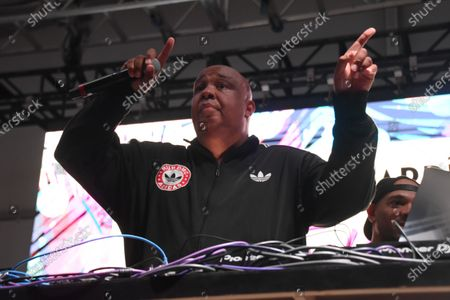 Stock Image of Joseph Simmons also know as his stage name Rev Run, performs at Bacardi presents Best of the Fest