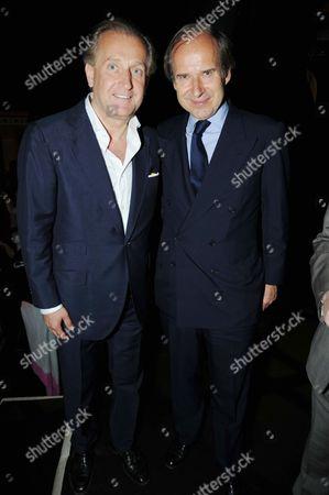 Spas Roussev and Simon De Pury