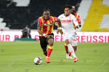 Editorial image of RC Lens v AS Monaco, French football Ligue 1 match, Bollaert-Delelis stadium, Lens, France - 23 May 2021