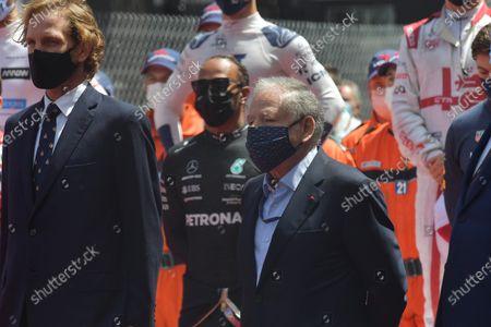 Andrea Casiraghi, FIA President Jean Todt.