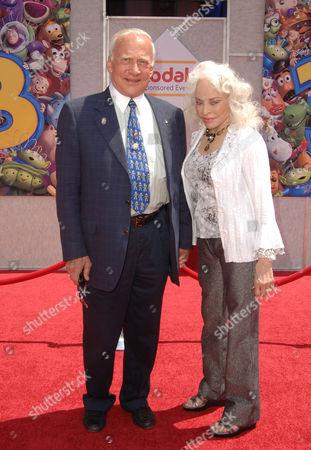 Buzz Aldrin & wife Lois Driggs Cannon