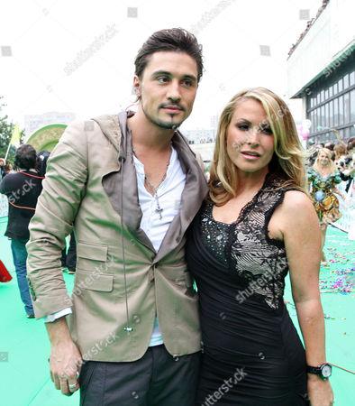 Dima Bilan and Anastacia
