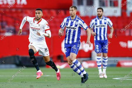 Editorial image of Sevilla CF v Deportivo Alaves, LaLiga Santander, date 38. Football, Sanchez Pizjuan Stadium, Sevilla, Spain - 23 May 2021