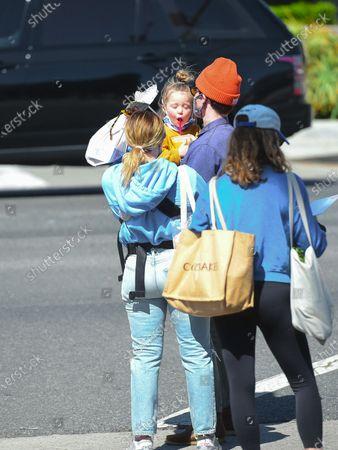 Hilary Duff, Matthew Koma and daughter Banks Koma