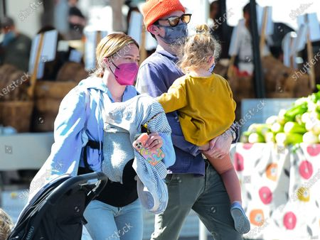 Editorial picture of Hilary Duff and Matthew Koma out and about, Los Angeles, California, USA - 23 May 2021