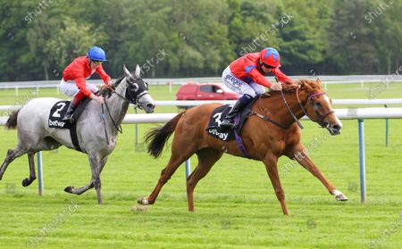 La Lune and David Probert win the Betway Pinnacle Stakes at Haydock from Cabaletta. 29/5/2021 Pic Steve Davies
