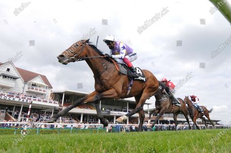 Kinross and Frankie Dettori win the Betway John Of Gaunt Stakes at Haydock. 29/5/2021 Pic Steve Davies