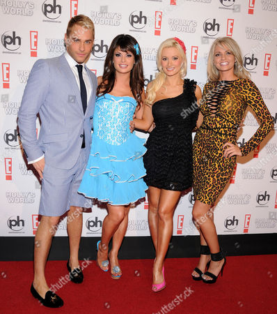 Josh Strickland and Laura Croft and Holly Madison and Angel Porrino