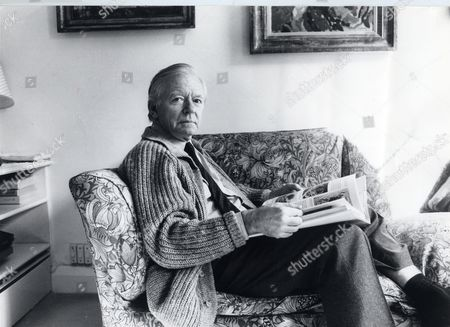 Actor Peter Barkworth (died 10/06) At His Home In Hampstead