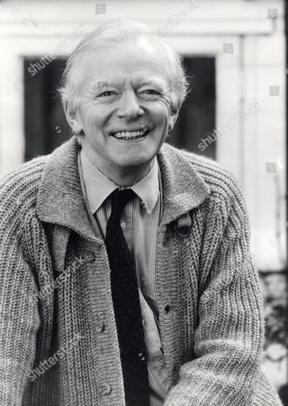 Actor Peter Barkworth (died 10/06) At His Hampstead Home.