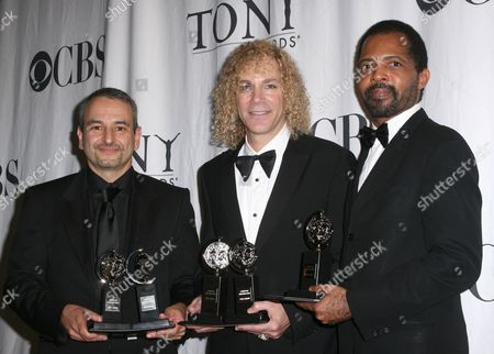 Joe DiPietro, David Bryan and Daryl Waters