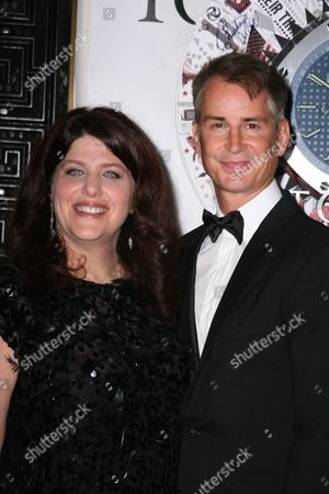 Stock Photo of Sheryl Kaller and Geoffrey Nauffts