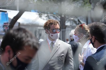 Stock Photo of Pierre Casiraghi