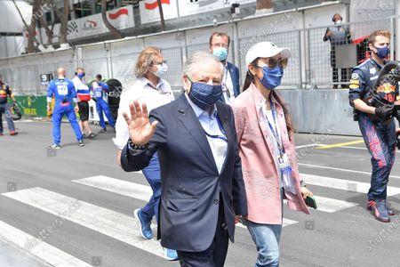 Editorial image of F1 Monaco Grand Prix, Race, Circuit de Monaco, Monte Carlo, Monaco - 23 May 2021