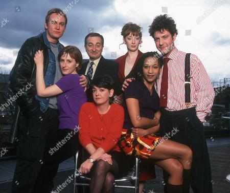 Philip Glenister as Phil, Nicola Stephenson as Gail, Tony Robinson as Alan, Emma Wray as Donna, Elizabeth Berrington as Marina, Claire Perkins as Bridget and Hamish Clarl as Roger