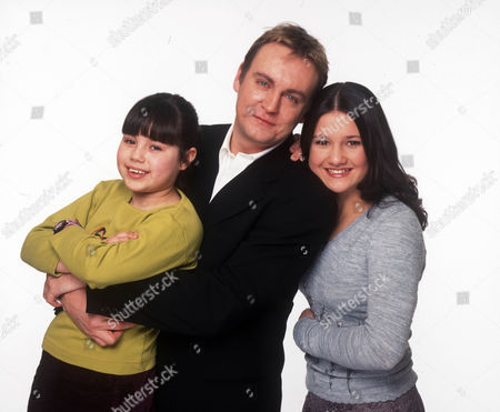 Amanda Riley as Rhiannon, Philip Glenister as Phil and Vicky Connett as Shirley