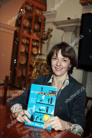 Lucy Kellaway with her new book