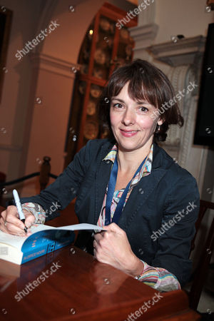 Stock Photo of Lucy Kellaway with her new book