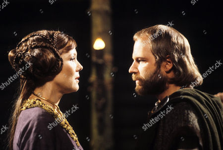 Diana Rigg as Regan and Geoffrey Bateman as Oswald