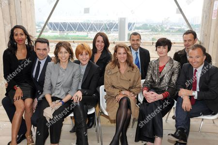 Michelle Ogundehin, Roland Mouret, Lisa Armstrong, Lucy Siegle, Mary Portas, Tracey Emin, Michael Gutman, Erin O'Connor, Tom Dixon and Tony Chambers