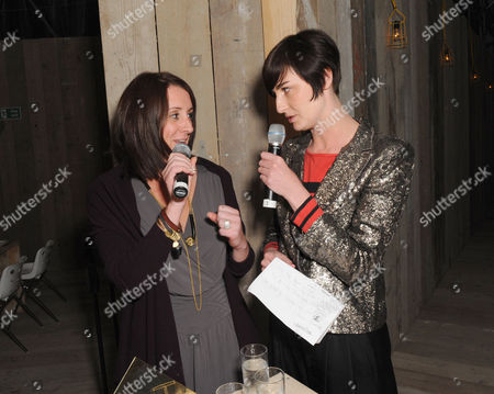 Lucy Siegle and Erin O'Connor
