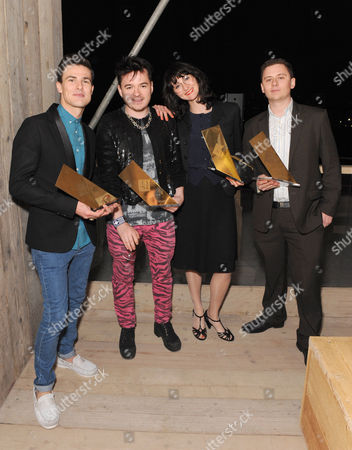Studio East Award Winners - Lee Broom,  Julian J Smith, Tatiana Echiverri Fernandez and Laurence Kembell Cook