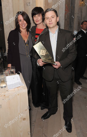 Lucy Siegle, Erin O'Connor and Laurence Kembell Cook