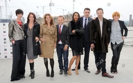 Erin O'Connor, Lucy Siegle, Tracey Emin, Tony Chambers, Michelle Ogundehin, Roland Mouret, Tom Dixon and Mary Portas