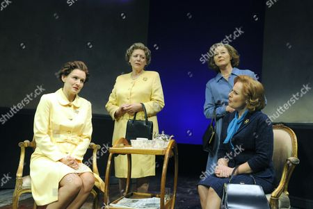 'Women, Power and Politics' - Claire Cox (Liz), Kika Markham (Q), Stella Gonet (T) and Heather Craney (Mags)