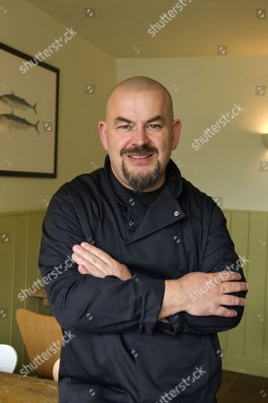 Editorial picture of Mat Follas at The Wild Garlic restaurant, Beaminster, Dorset, Britain - 04 May 2010