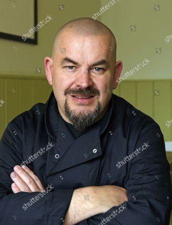 Editorial photo of Mat Follas at The Wild Garlic restaurant, Beaminster, Dorset, Britain - 04 May 2010