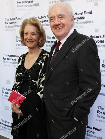 Stock Image of Richard Herd and guest
