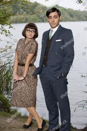 Sarah Smart (Mildred) and Liam Garrigan (Stephen Restarick)