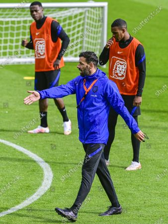 Holland assistant trainer Ruud van Nistelrooy during a training session of the Dutch national team at the KNVB Campus on May 24, 2021 in Zeist, The Netherlands. The Dutch national team is preparing for the UEFA EURO 2020 in Zeist.