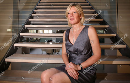 Editorial image of Lisa Thomas, Chief Executive of M&C Saatchi Group advertising agency at her office in London, Britain - 03 Jun 2010