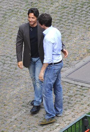 Piersilvio Berlusconi (L)
