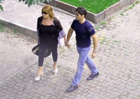 Piersilvio Berlusconi and his mother Carla Dall'Oglio