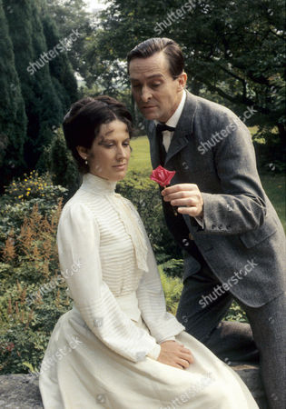 Series 1 Episode 3 - The Naval Treaty Jeremy Brett as Sherlock Holmes and Alison Skilbeck as Annie Harrison
