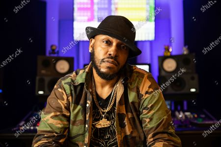 Stock Picture of Mystikal poses for a portrait, in Baton Rouge, La