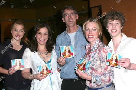 Stock Image of Betsy Wolfe, Lindsay Mendez, Dick Scanlan, Sherie Rene Scott and Eamon Foley