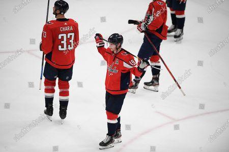 Editorial photo of Bruins Capitals Hockey, Washington, United States - 23 May 2021